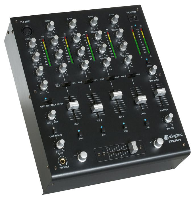 SKYTEC MAX7000/ STM7000, Mixer 4 channel, discoland.fi