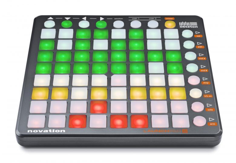 NOVATION Launchpad S+ Ableton live ohjelma. ja Novationin yhteistyössä kehittämä kontrolleri Ableton Live ohjelmistoa varten. Abletonin ja Novationin yhteistyön tuloksena syntynyt Launchpad on suorin tie sormenpäistäsi Ableton Liven moniin toimintoihin. Olitpa DJ, muusikko tai studiotuottaja, Launchpad tarjoaa kaiken mitä tarvitset muuttaaksesi Ableton Liven reaaliaikaiseksi soittimeksi.