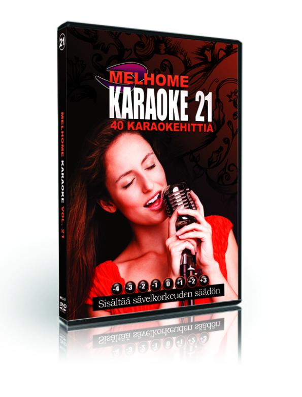 MELHOME Vol 21 KARAOKE DVD levyllä on 4, discoland.fi