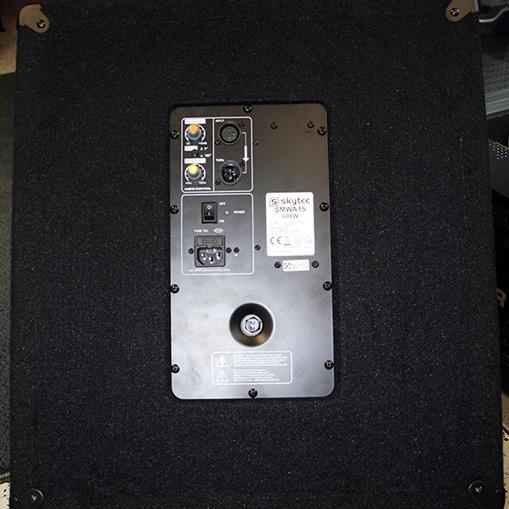 SKYTEC SMWA12 PA aktiivisubwoofer 12
