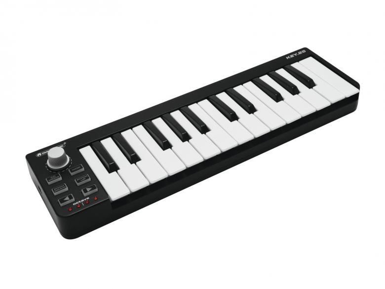 OMNITRONIC KEY-25 MIDI kontrolleri on mu, discoland.fi