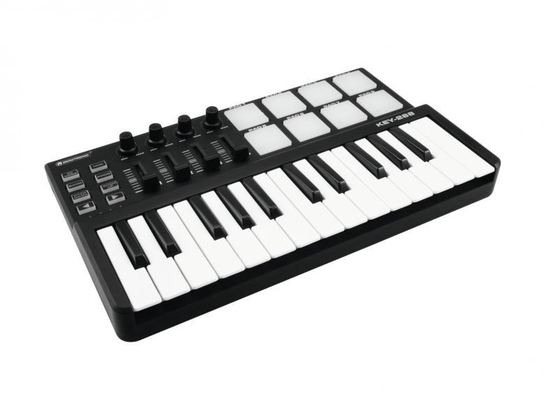 OMNITRONIC KEY-288 MIDI kontrolleri on m, discoland.fi