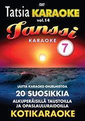 TATSIA Kotikaraoke Vol 14 Tanssi 7 karao, discoland.fi