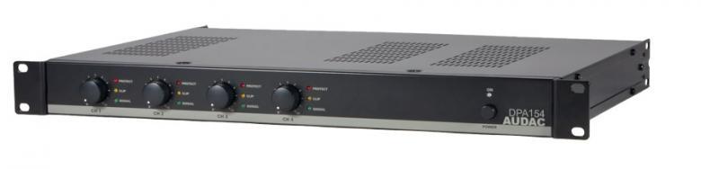 AUDAC DPA154 Amplifier 4x 150W 4ohms, Mo, discoland.fi