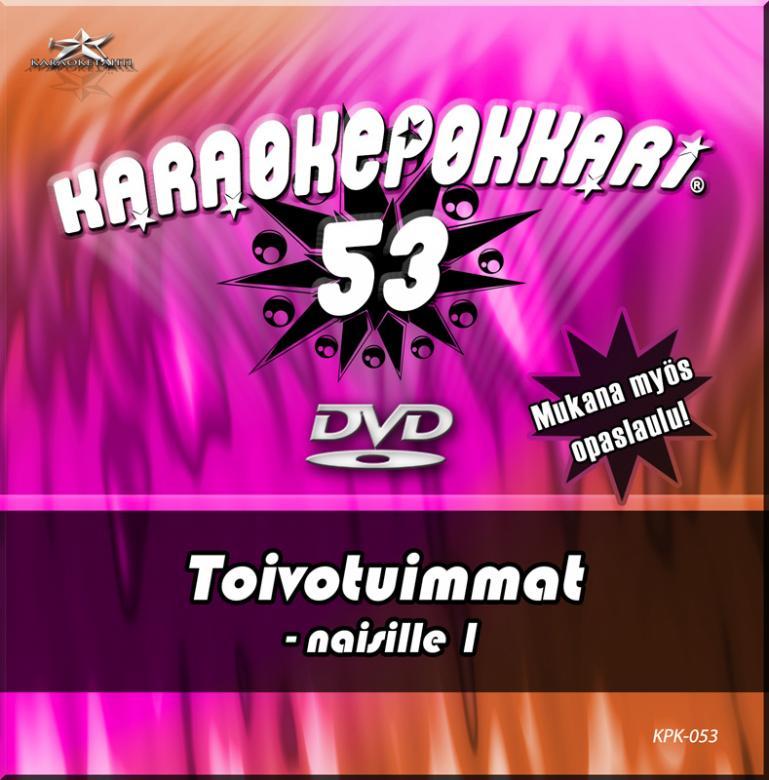 KARAOKEPOKKARI DVD Karaokepokkari 53 Toi, discoland.fi