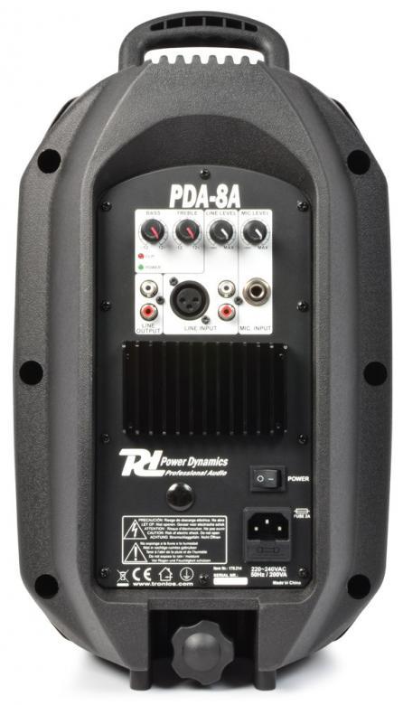 POWERDYNAMICS PDA-8A aktiivikaiutin 8