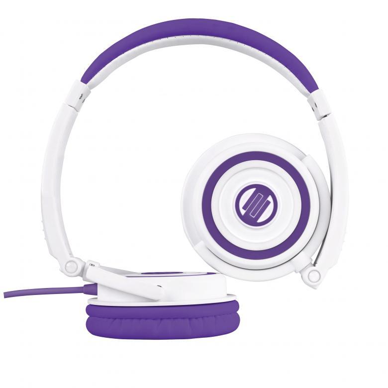 RELOOP RHP-5 Purple Milk Laadukas kuuloke mikrofonilla, joka on iPhone® yhteensopiva! Voit siis puhua puhelimella ottamatta kuulokkeita pois!Reloop ylpeänä esittelee RHP-5 kuuloke sarjan sisäänrakennetulla iPhone ohjauksella. Kompakti sekä kevyt, mutta siitä huolimatta jykevä rakenne, laadukas soundija myös hinnaltaan sopivat. Pyörivät kuulokkeet sekä taitettava muotoilu helpottavat kuljetusta. Tämä kuuloke pitää sisällään mikrofonin ja vastaus sekä vaimennus kytkimet. Toimii älypuhelinten kanssa kuten iPhone. Kuulokkeen johdossa on näppärä volumen säätö sekä paidankaulus clippi, jonka avulla saat mikin kuulumaan hyvin. Tässä kuuloke mallissa on laadukkaat elementit, jotka tuottavat upean bassotoiston sekä heleät diskantit.