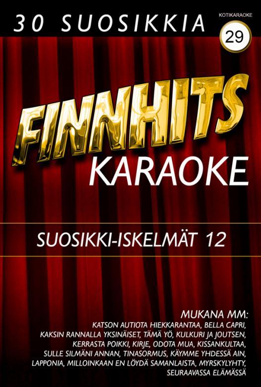 FINNHITS VOL 29-Suosikki Iskelmät DVD k, discoland.fi