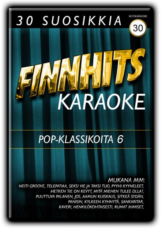 FINNHITS VOL 30-Pop Klassikoita 6 DVD ka, discoland.fi