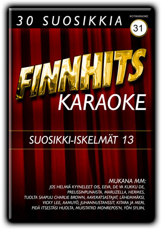 FINNHITS VOL 31 Suosikki Iskelmät 13 DV, discoland.fi