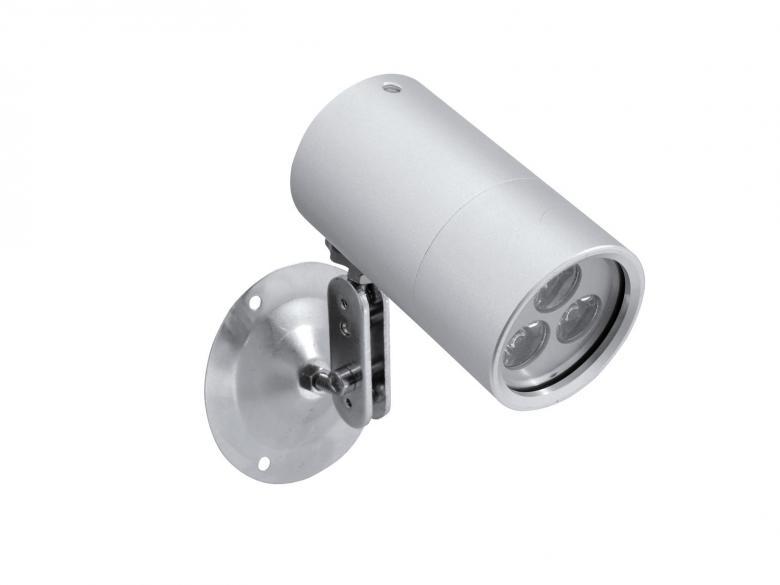 EUROLITE LED IP Seinä spotti 3000K 3x1W valkoinen luonnollinen sävy, seinä / kattovalaisin LED 3000K valkoinen luonnollinen sävy, seinävalaisin. Mitat 135 x 86 x 170 mm sekä paino 0.5kg.