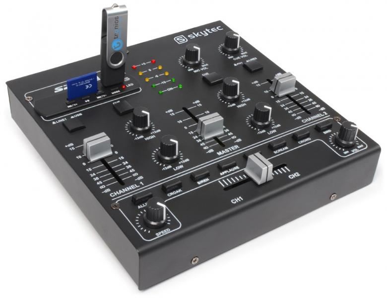 SKYTEC STM-2250 2- 4 kanavainen efekti D, discoland.fi