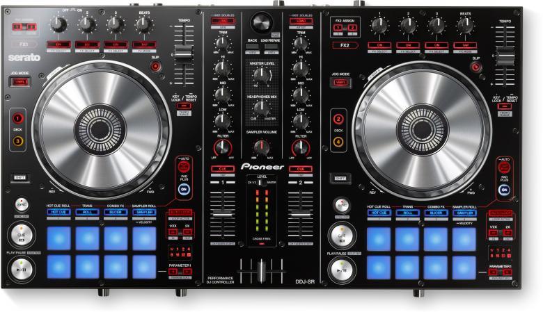 PIONEER DDJ-SR DJ-kontrolleri Pioneer PR, discoland.fi