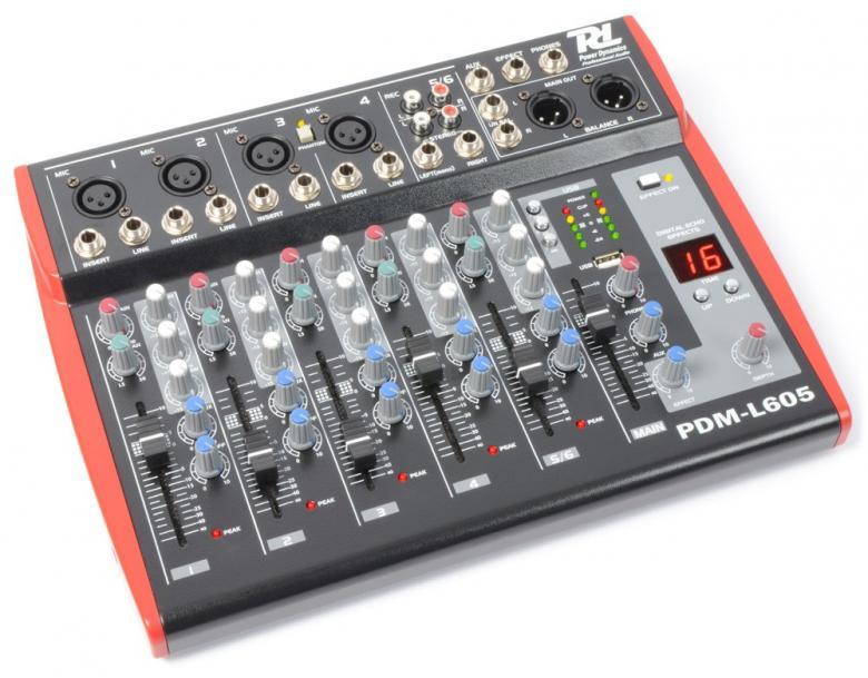 POWERDYNAMICS PDM-L605 MP3 6-kanavainen , discoland.fi