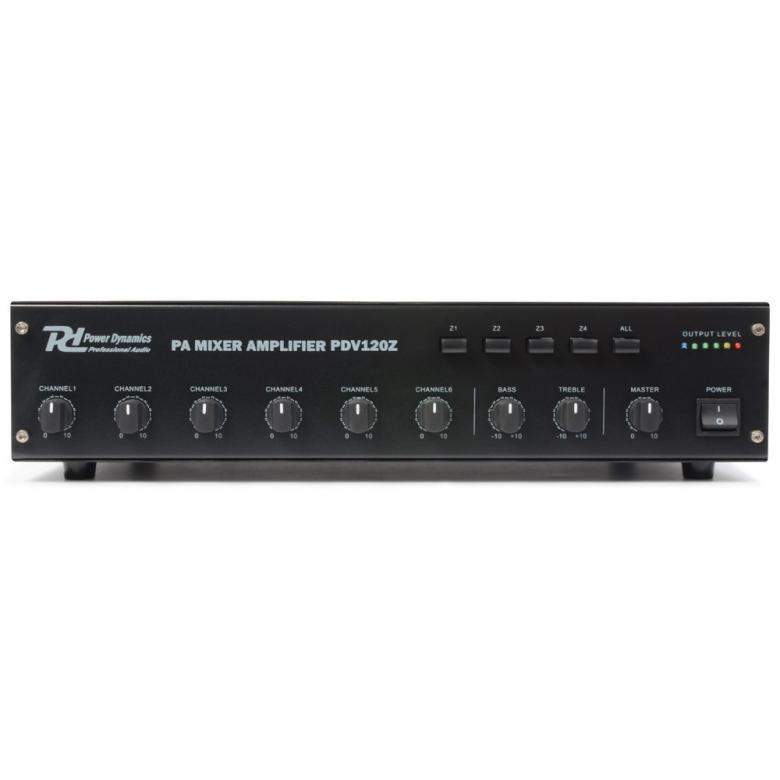 POWERDYNAMICS PDV120Z 120W 100V 4 Alueva, discoland.fi