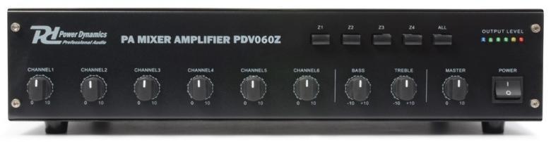 POWERDYNAMICS PDV060Z 60W/100V 4- Alueva, discoland.fi