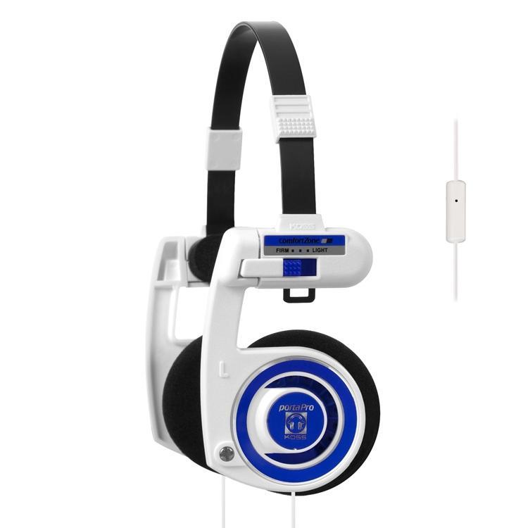 KOSS Porta Pro 2.0 valkoinen blueberry T, discoland.fi