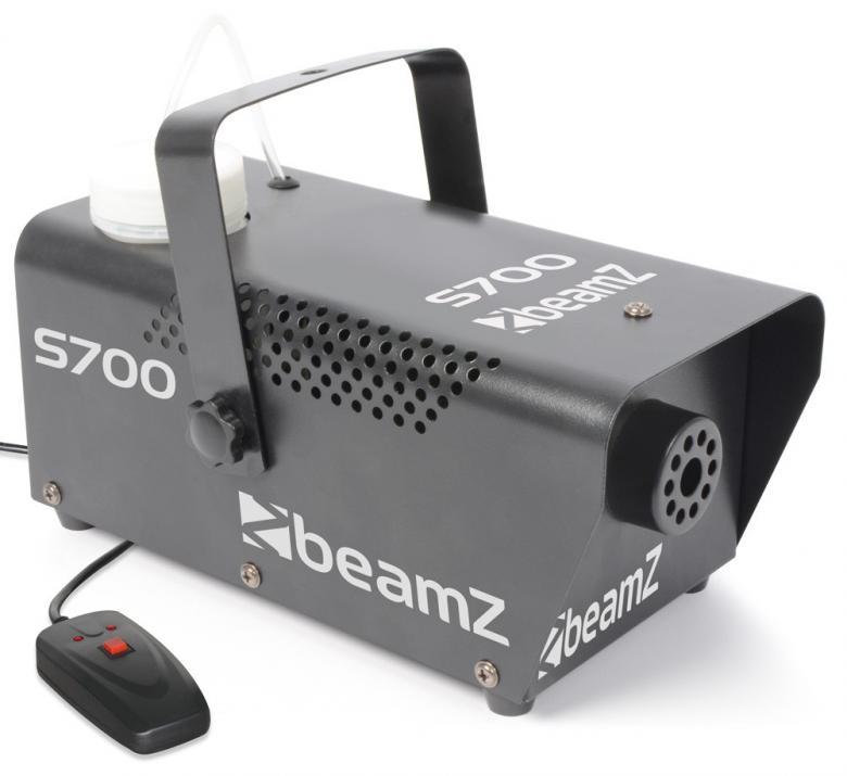BEAMZ S700 Pieni Savukone 700W, joka tuo, discoland.fi