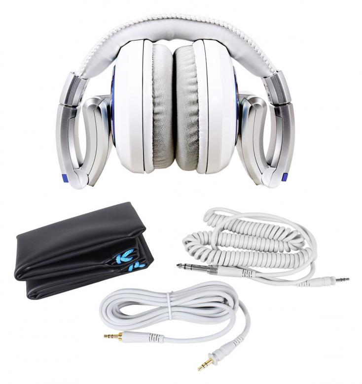 NUMARK ELECTROWAVE DJ-kuulokkeet, Loistava Soundi Sekä Mahtava Äänenpaine 3000mW.!DJ kuulokkeet suunniteltiin koko DJ-kokemusta mielessä pitäen. Esimerkiksi äänen syvä basso, katseenvangitseva ulkonäkö ja mukava muotoilu tekevät ElectroWave kuulokkeet selkeäksi valinnaksi ammattimaiseen DJ käyttöön.