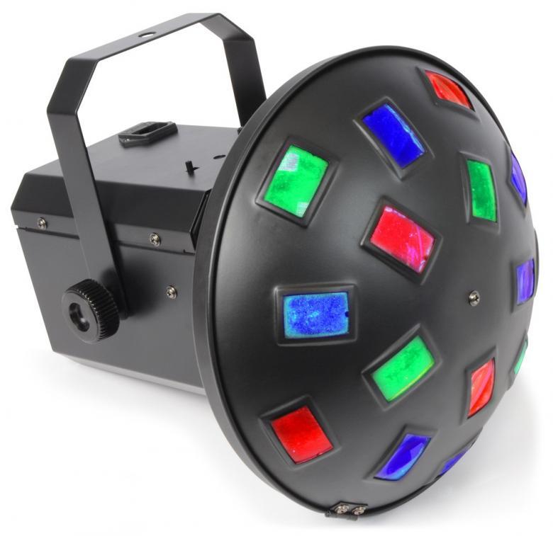 BEAMZ Mushroom 3x 3W RGB LED LED sieni e, discoland.fi