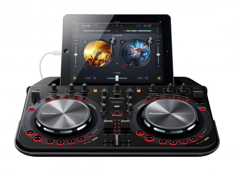 PIONEER DDJ-WeGO2 Musta DJ kontrolleri. , discoland.fi