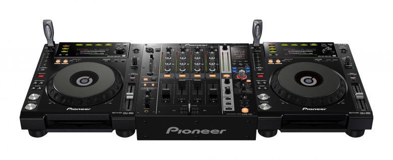 PIONEER 750KPACK 2xCDJ-850 1xDJM-750. PR, discoland.fi