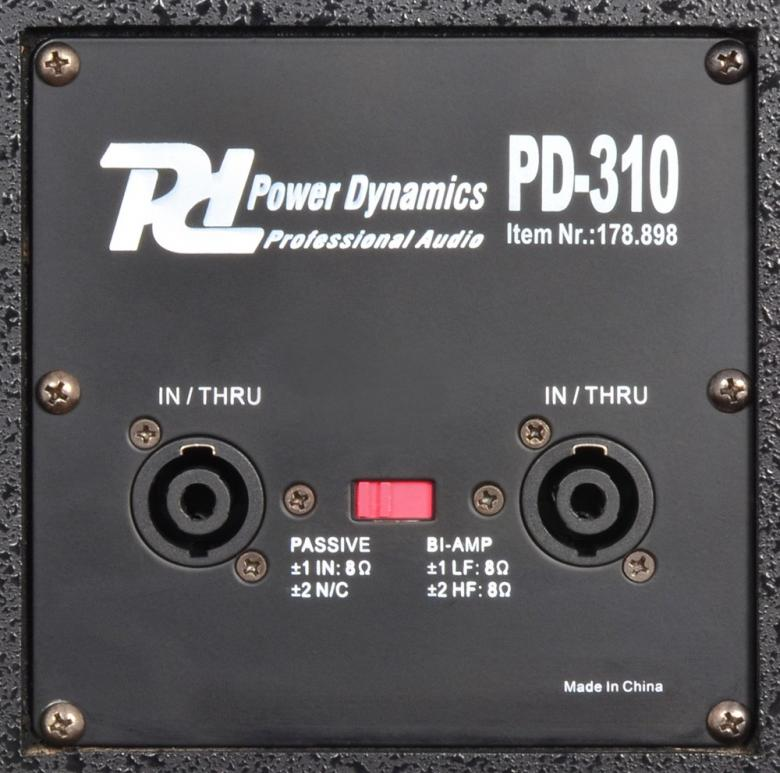 POWERDYNAMICS PD-310 10