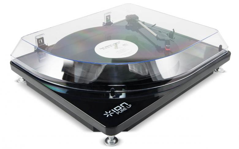 IONAUDIO ION Audio PURE LP Levysoitin USB. Digital Conversion Turntable. Tyylikäs hihnavetoinen levysoitin USB liitännällä, siirrä vinyylit koneelle! Pure LP sopii sekä vinyylilevyjen siirtoon tietokoneelle että musiikin kuunteluun. Matalan muotoilun ja korkeakiiltoisen viimeistelyn ansiosta soitinta pitää mielellään esillä.Mukana ION Audio EZ Vinyl/Tape Converter -ohjelmisto jolla vinyylien tallennus tiedostoiksi onnistuu helposti. 33 1/3, 45, sekä 78 kierrosta minuutissa toisto. Mukana tyylikäs pölykansi.