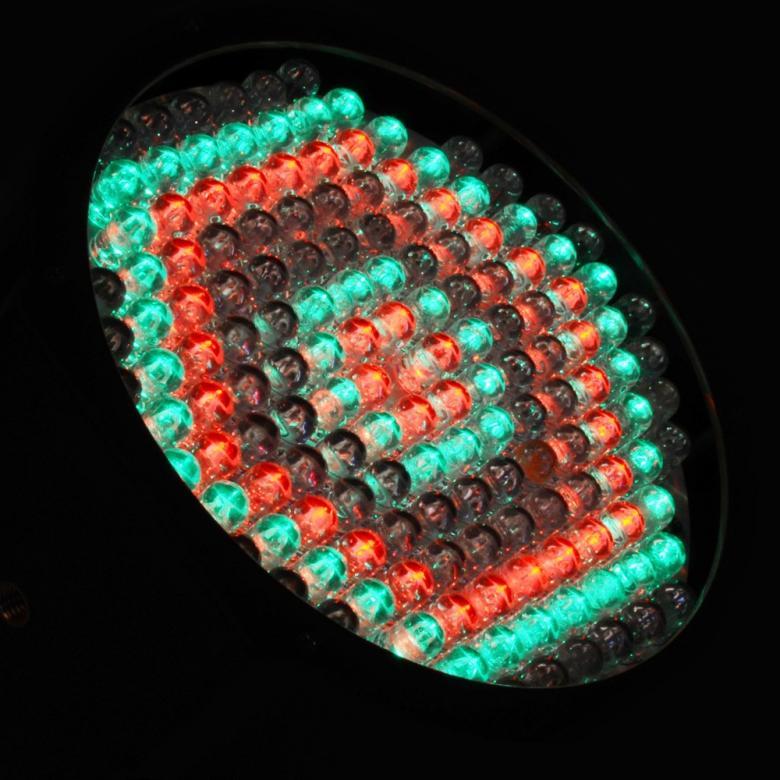 BEAMZ LED FLAT-PAR Spotti 154x 10mm RGBW DMX. Beam angle 14°Field angle 25° Light intensity 2750 lux @ 1m. Tässä FLAT-PAR mallisessa valonheittimessä on 154 superkirkasta RGBW LEDiä kompaktissa kuoressa joka mahtuu lähes mihin tahansa. Laite tarjoaa runsaan valikoiman staattisia värejä sekä värisekoituksia. Laitteessa sisäänrakennettuna automaattisia sekä ääniaktivoitavia ohjelmia, strobo, sähköinen himmennys ja vaihteleva nopeuspulssi efektikäyttöön kiireessä. Voit myös luoda oman lookkisi käyttämällä 8-kanavaista DMX-moodia. Mahdollisuus ketjuttaa useita spotteja. Mitat 200 x 190 x 122mm sekä paino 1.0kg.
