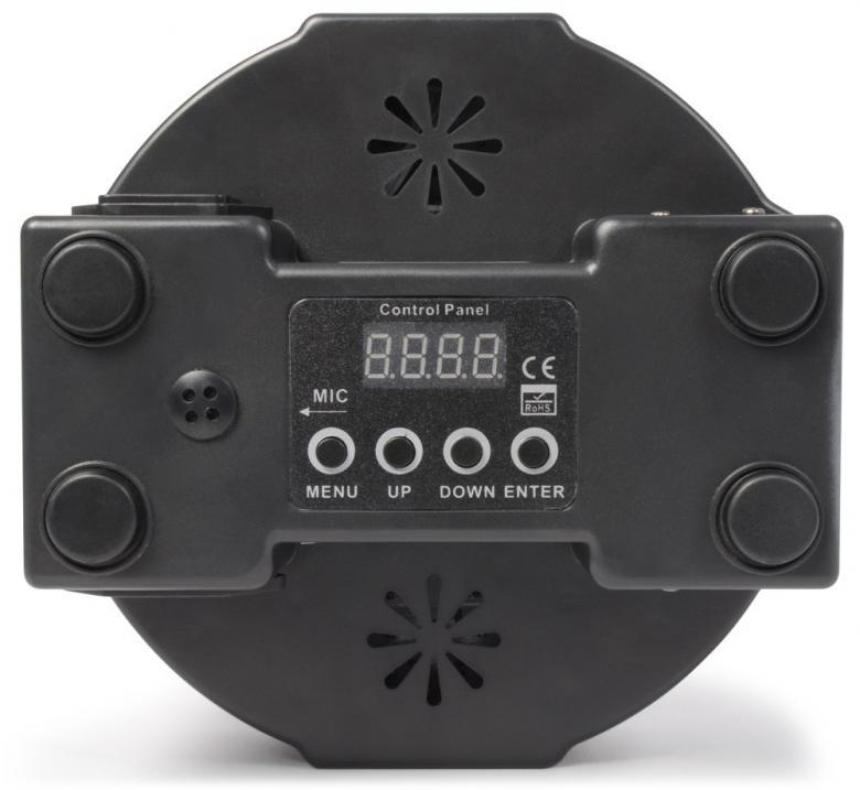 BEAMZ LED FLAT-PAR Spotti 1kpl POISTO 5x8W RGBW Quad POISTO LED. Tässä FLAT-PAR mallisessa valonheittimessä on 5kpl superkirkasta RGBW LEDiä kompaktissa kuoressa joka mahtuu lähes mihin tahansa. Laite tarjoaa runsaan valikoiman staattisia värejä sekä värisekoituksia. Laitteessa sisäänrakennettuna automaattisia sekä ääni-aktivoitavia ohjelmia, strobo, sähköinen himmennys ja vaihteleva nopeus-pulssi efekti käyttöön kiireessä. Voit myös luoda oman lookkisi käyttämällä 7-kanavaista DMX-moodia. Mahdollisuus ketjuttaa useita spotteja.