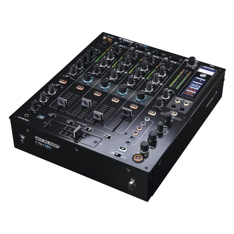 RELOOP RMX-80 Digitaalinen DJ mikseri Musta, Premium luokan huippu DJ tuote. Tässä mikseri, joka haastaa laadullaan jopa Pioneerin huippu DJ tuotteet. Menu setupista voit valita jopa limitterin mikseriin, niin että ei yliohjausta tapahdu.Mitat 320 x 107.5 x 382.4 mm sekä paino 6,2kg.