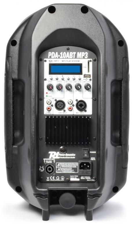POISTO PDA-10ABT aktiivikaiutin 175W Bluetooth. MP3 soitin sekä bluetooth vastaanotin 2-tie 10
