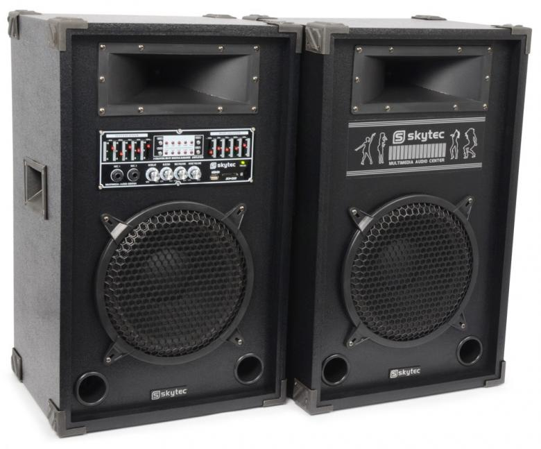 SKYTEC SPA-800 PA Karaoke Active speaker 8