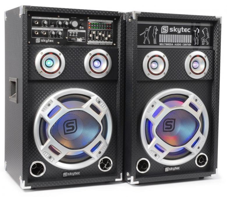 SKYTEC <b>B-STOCK!!!</b> KA-12 LED Disco, discoland.fi