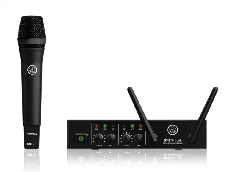 AKG DMS70 DR VOCAL SET langaton mikrofon, discoland.fi