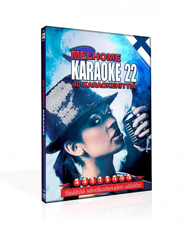MELHOME Vol 22 karaoke DVD levyllä on 4, discoland.fi