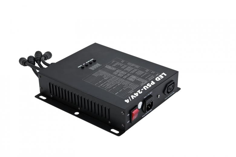 EUROLITE LED-valo-ohjain PSU-24V/4 DC LED Pixel Tube 360° putkille, max. 4kpl putkea. Controller for EUROLITE LED Pixel Tube 360.