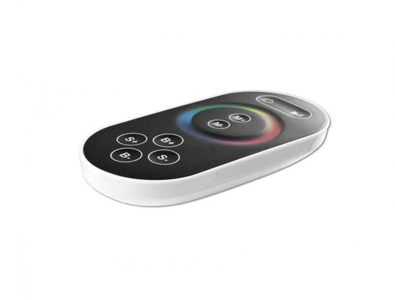 EUROLITE TP-340 LED Controller Kauko-ohjain LED strip. kolme erillistä kanavaa rgb väreille. Toimii mm. Eurolite RGB led strippien 12-24V kanssa.
