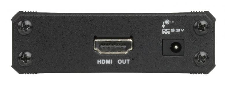 ATEN VC-180 VGA-HDMI muunnin audiolla Tämä muunnin konvertoin VGA ulostulon HDMI ulostuloksi, 1080P.