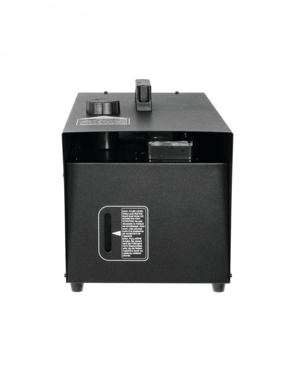 ANTARI HZ-100 Hazer laitteen perästä ohjauksella. Ajastin ohjaus sekä langaton optioina. Aito hazer ammattikäyttöön. Tuotto 30 m³/min, kulutus n. 1L /25 tuntia! Mitat 484 x 250 x 236 mm sekä paino 12kg.