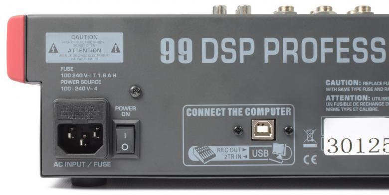 POWERDYNAMICS PDM-S803 8-kanavainen mikseri MP3 / USB / SD soittimella!8-kanavainen mikseri vaikkapa live käyttöön. USB / SD paikat MP3 soittoa varten. Sisäänrakennettu, säädettävä kaiku DSP. Monipuoliset liitännät, Phantom syöttö, 3-alueinen EQ jokaisella kanavalla sekä 9-alueinen master EQ.