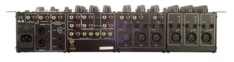 VOCOPRO KJM-8000PLUS Karaoke mikseri DSP on Pro KJ & DJ Yhdistetty mikseri transponoinnilla. 9-kanavainen Ammatti Karaoke-ja -Disco-mikseri 7-alueen graafisella eqvalisaattorilla.Tuntuuko laitteiden kytkeminen vaikelta kaikkien irrallisten efektilaitteiden vuoksi? Älä huoli, Vocopro KJM-8000+ ratkaisee pulmasi. Suunnittelimme uusimman mikserimme KJM-7900:n pohjalta. KJM-8000+ Pro pitää sisällään kaikki samat ominaisuudet kuin pikkuveljensä + muutaman muun loistokkaan ominaisuuden. Uusia ominaisuuksia ovat graafinen equalisaattori ja erillinen subwoofer ulostulo. Jos ostaisit erillisinä laitteina kaikki efektit & ominaisuudet mitä KJM-8000+ Pro pitää sisällään, olisi keikkaräkkisi raskaampi kantaa, mutta lompakkosi paljon kevyempi.