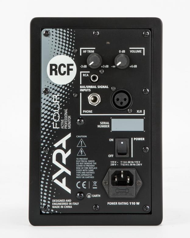 RCF AYRA Four musta aktiivikaiutin Pari 4