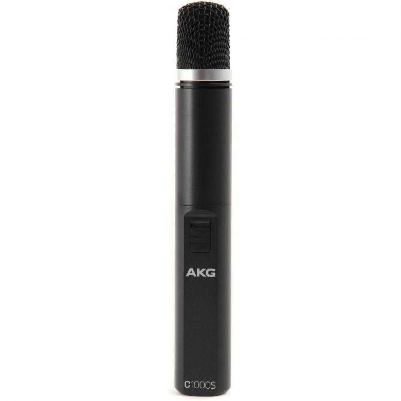 AKG C1000s MKIV kondensaattorimikrofoni, päivitetty versio suursuosikista C1000 S. Tämä monikäytöinen, pieni-kalvoinen kondensaattorimikrofoni on erittäin suosittu sen monipuolisuuden takia. Se sopii niin tallennukseen, live-äänen sovelluksiin sekä video-tuotantoihin. Preesens-alueen korostusadapteri, bassoleikkuri ja -10 dB kytkin. Uusi malli toimii 1,5V paristoilla 9V sijaan.
