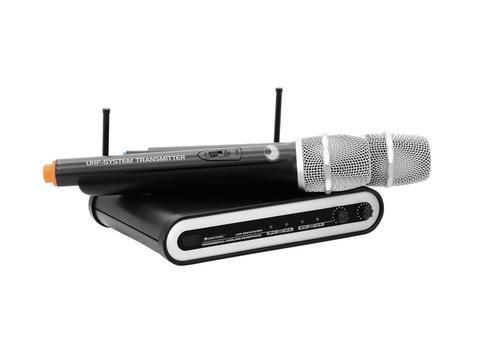 OMNITRONIC UHF-202 Langaton mikrofoni 86, discoland.fi