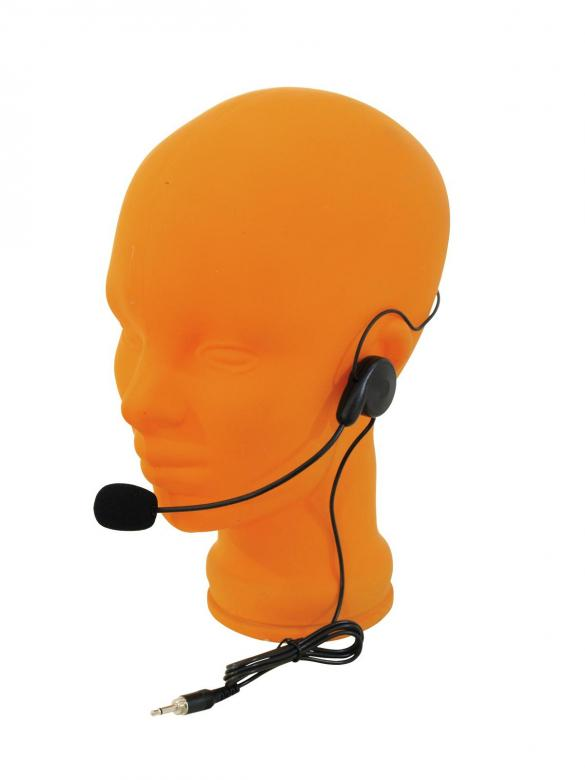 POISTO OMNITRONIC HS-250 Päämikrofoni miniplugi liitimellä for TM-250, Päämikki liitettävissä taskulähettimeen, hyvä ääni puheisiin, teatteriin sekä esittelyihin! Miniplug liitin! Universaali ja vaatii konkka virran 1,5-16V DC. Headset mikki.
