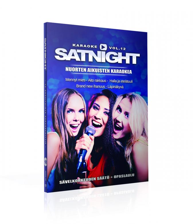 SATURDAYNIGHT Karaoke DVD vol 12 levylt�, discoland.fi