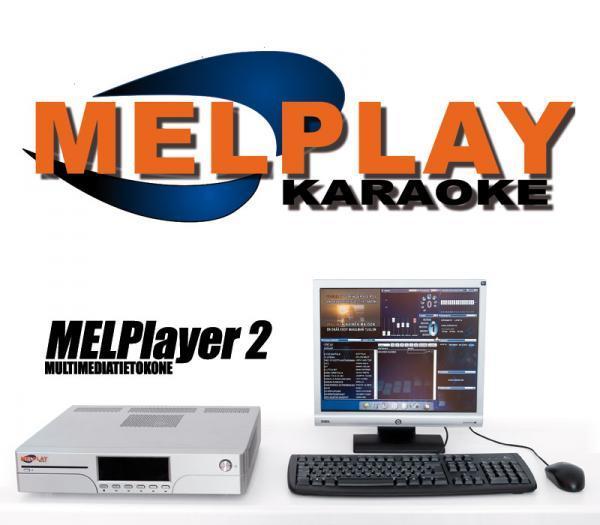 MELPLAYER Loppu! Melplayer 2 Karaoke tie, discoland.fi