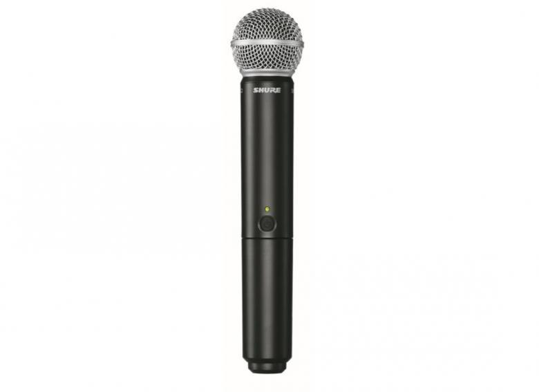 SHURE BLX2/PG58 käsilähetin mikrofoni , discoland.fi