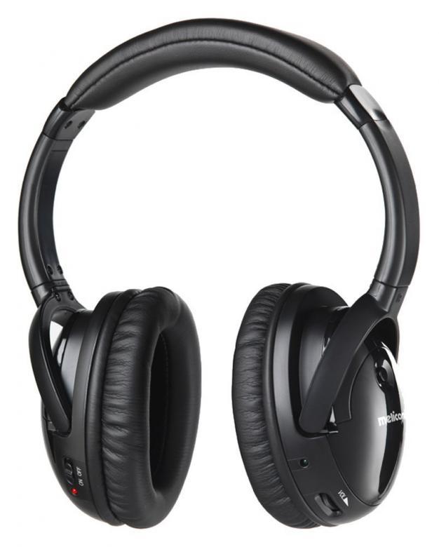 MELICONI HP300 Edulliset langattomat RF-kuulokeet. Edulliset kuulokkeet päivittäiseen käyttöön jopa 50 metrin toimintasäteellä! Automaattinen taajuuden viritys kuulokkeiden ja tukiaseman välillä, kolme vaihtoehtoista kanavaa.• Suljettu kuuloke • Toiminta-aika noin 8 tuntia• Taajuusvaste: 20–20 000 Hz• Pakkauksen sisältö:kuulokkeet,lataus-/lähetinyksikkö,verkkovirtajohto,audiokaapeli 3,5 mm,ladattavat AAA-akut 2 kpl• Takuu 2 vuotta.